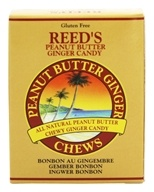 Reed's - Candy Chews Peanut Butter Ginger - 2 oz. by Reed's