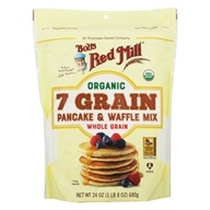 Image of Bob's Red Mill - Pancake & Waffle Organic Whole Grain Mix 7 Grain - 26 oz.