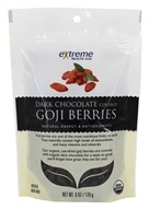 Extreme Health USA - Goji Berries covered with Dark Chocolate - 6 oz.