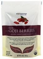 Image of Extreme Health USA - Raw Goji Berries - 5 oz. formerly Organic Wild Crafted Tibetan Goji Berry