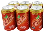 Zevia - All Natural Soda Sweetened with Stevia 12 oz. Cans Orange Flavor - 24 Pack by Zevia