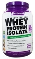 Bluebonnet Nutrition - 100% Natural Whey Protein Isolate Powder Natural Original Flavor - 2.2 lbs. - $45.56