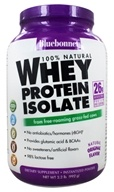 Bluebonnet Nutrition - 100% Natural Whey Protein Isolate Powder Natural Original Flavor - 2.2 lbs. by Bluebonnet Nutrition