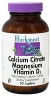 Bluebonnet Nutrition - Calcium Citrate Magnesium Vitamin D3 High Potency - 90 Caplets
