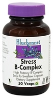 Bluebonnet Nutrition - Stress B-Complex High Potency - 50 Vegetarian Capsules (743715004221)