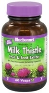 Bluebonnet Nutrition - Standardized Milk Thistle Fruit & Seed Extract 175 mg. - 60 Vegetarian Capsules (743715013803)