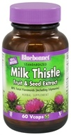 Image of Bluebonnet Nutrition - Standardized Milk Thistle Fruit & Seed Extract 175 mg. - 60 Vegetarian Capsules