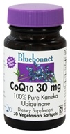 Bluebonnet Nutrition - CoQ10 Ubiquinone From Kaneka 30 mg. - 30 Softgels - $5.56