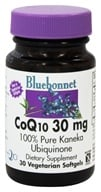 Bluebonnet Nutrition - CoQ10 Ubiquinone From Kaneka 30 mg. - 30 Softgels (743715008007)