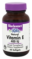 Bluebonnet Nutrition - Natural Vitamin E Mixed Tocopherols 400 IU - 50 Softgels