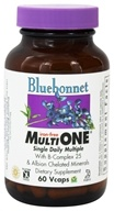 Image of Bluebonnet Nutrition - Multi One Multivitamin & Multimineral Iron-Free - 60 Vegetarian Capsules