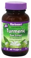 Image of Bluebonnet Nutrition - Standardized Turmeric Root Extract - 60 Vegetarian Capsules