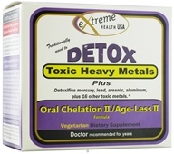 Extreme Health USA - Detox Heavy Metal II/Age-Less II Formula Kit (658623201238)