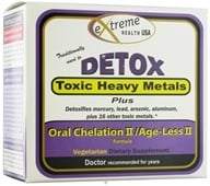 Extreme Health USA - Detox Heavy Metal II/Age-Less II Formula Kit - CLEARANCE PRICED