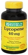 Good 'N Natural - Lycopene Once Daily Formula 40 mg. - 60 Softgels, from category: Nutritional Supplements