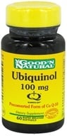 Good 'N Natural - Ubiquinol Once Daily Formula 100 mg. - 60 Softgels (698138186606)