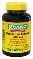 Good 'N Natural - Standardized Green Tea Extract Once Daily Formula 500 mg. - 120 Capsules