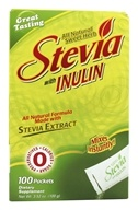 Herbal Authority - Stevia With Fiber All Natural Sweet Herb Formula - 100 Packet(s) Formerly called Good 'N Natural by Herbal Authority