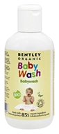 Bentley Organic - Baby Wash 85% Organic With Aloe Vera Chamomile & Lavender - 8.4 oz.