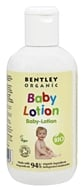 Bentley Organic - Baby Lotion 90% Organic With Chamomile Aloe Vera & Natural Vitamin E - 8.4 oz.