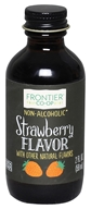 Frontier Natural Products - All-Natural Strawberry Flavor - 2 oz.