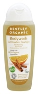 Image of Bentley Organic - Bodywash Revitalising With Cinnamon Sweet Orange & Clove Bud Oils - 8.8 oz.