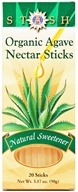 Stash Tea - Organic Agave Nectar Sticks - 20 Stick(s)
