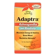 EuroPharma - Terry Naturally Adaptra - 60 Capsules Contains Schisandra Berry, from category: Nutritional Supplements