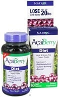 Natrol - AcaiBerry Diet Super Foods - 60 Capsules