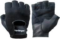 Image of Harbinger - Power Lifting Gloves - Medium Black - 1 Pair