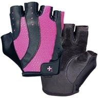 Harbinger - Women's Pro Lifting Gloves - Medium Black/Pink - 1 Pair (000751510605)