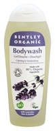 Bentley Organic - Bodywash Calming & Moisturising 77% Organic With Lavender Aloe & Jojoba Oils - 8.8 oz. by Bentley Organic