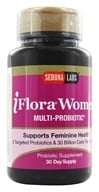 Sedona Labs - iFlora Probiotics For Women - 60 Vegetarian Capsules - $23.21