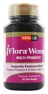 Sedona Labs - iFlora Probiotics For Women - 60 Vegetarian Capsules by Sedona Labs