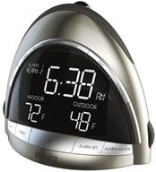 Image of HoMedics - SoundSpa Premier AM/FM Clock Radio with Time/Temp Projection (SS-5010)