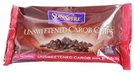 SunSpire - Carob Chips Unsweetened - 10 oz. by SunSpire