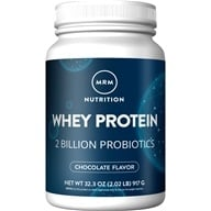 Natural Whey Protein Powder with Probiotics Dutch Chocolate 2 Billion CFU - 2.02 lbs. by MRM