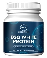 Image of MRM - All Natural Egg White Protein Chocolate - 24 oz.