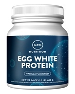 MRM - All Natural Egg White Protein French Vanilla - 24 oz.