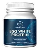 Image of MRM - All Natural Egg White Protein French Vanilla - 24 oz.