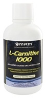 MRM - L-Carnitine Natural Vanilla 1000 mg. - 17 oz. by MRM