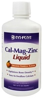 Image of MRM - Cal-Mag-Zinc Liquid Orange Vanilla - 32 oz.