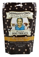 Image of Newman's Own Organics - Dog Treats Small Size Peanut Butter Flavor - 10 oz.