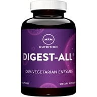 Digest-All 100 % Vegetariani Enzymes Gas e supporto gonfiore - 100 Capsule vegetariane