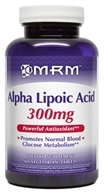 MRM - Alpha Lipoic Acid 300 mg. - 60 Vegetarian Tablets - $21.57