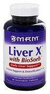 MRM - Liver X with BioSorb - 60 Vegetarian Capsules, from category: Nutritional Supplements