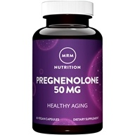 MRM - Pregnenolone 50 mg. - 60 Vegetarian Capsules, from category: Nutritional Supplements