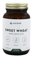 Brightcore Nutrition - Sweet Wheat Organic Wheat Grass Juice Powder - 60 Vegetarian Capsules by Brightcore Nutrition