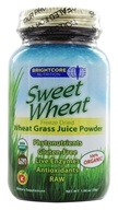Brightcore Nutrition - Sweet Wheat Organic Wheat Grass Juice Powder - 30 Grams - $21.15