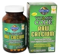 Garden of Life - Vitamin Code RAW Calcium - 75 Vegetarian Capsules, from category: Vitamins & Minerals